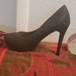 💎💎 SALE  black party heels almost 6 inches